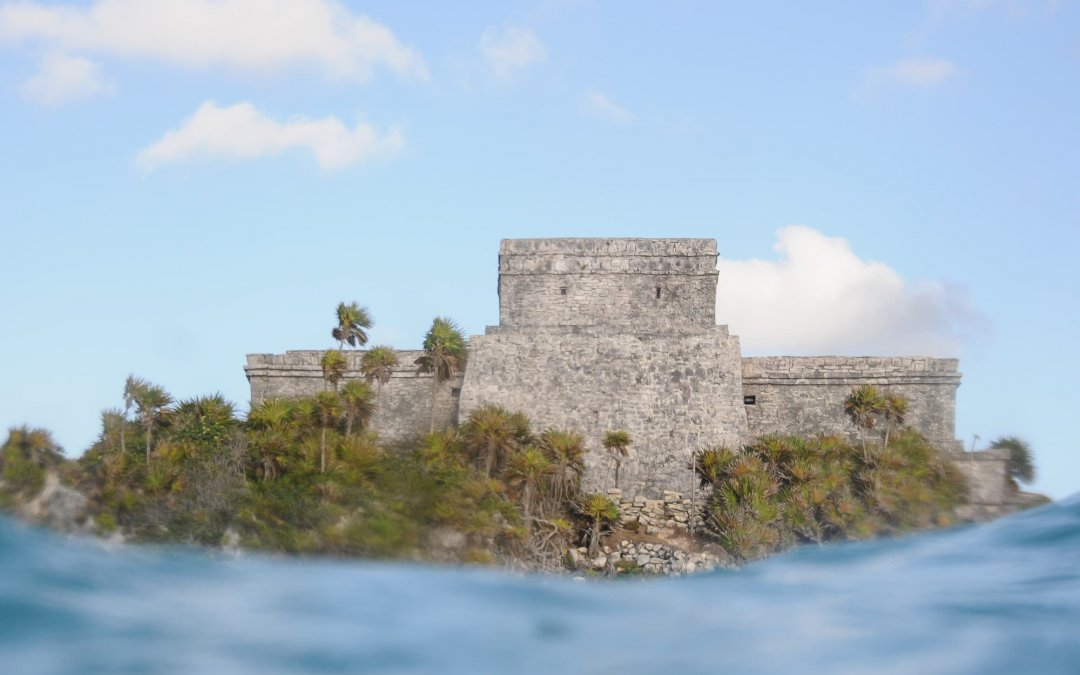 Visiting the Tulum ruins